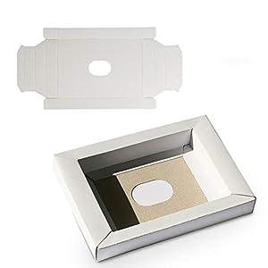 WiCareYo 10Pcs Karton Hülle Inlays Einschub Kartons Wiedereinbau inneres Einlegeeinsatz Behälter für PAL u. NTSC Super…