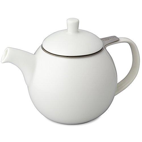 ForLife Teekanne Curve 0,7 l, weiß