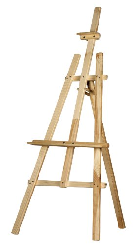 STUDIO EASEL (1500MM HIGH) DISPLAY - PINE WOOD
