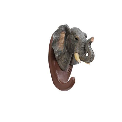 WYY Kreative Tier Ornament Haken Wand Wandbehang Veranda Lagerung Retro Key Frame Persönlichkeit Mantel Haken