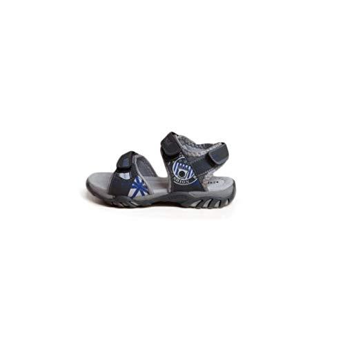 Superga Scarpe Kids Sandali Pelle Grigia S63R115-GRIGIO