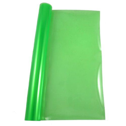 sourcingmap® Grün 119.89 cm x 29.97 Scheinwerfer cm Auto Folie Aufkleber Tint Farbe wechseln