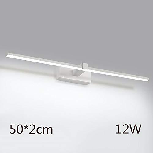 ageslichtweiß Make-up Lampe Portable Eitelkeit Spiegelleuchte Beleuchtung Fixture Strip Badleuchte Wandleuchte Nachtlicht-weiß 50cm(20inch) ()