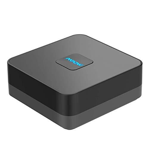 Mpow Bluetooth-Empfänger, 4.1 Bluetooth-Audio-Adapter mit eingebautem Geräuschisolator, für Musik-Streaming-Soundsystem, kein Akku für Niemals Ausschalten (Bluetooth 4.1, Dual Link, Auto Reconnect)