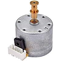 SUPVOX Phonograph Gramophone Motor Replacement Metal Motor Hardware para Reproductores de Discos de Vinilo (Plata)