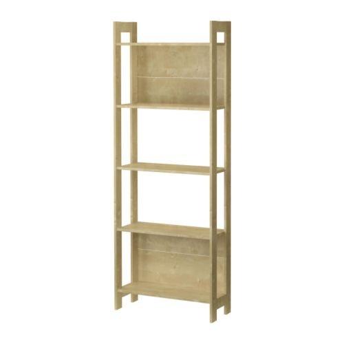 Ikea Laiva - Estantería, 62 x 165 cm, aspecto de madera de...