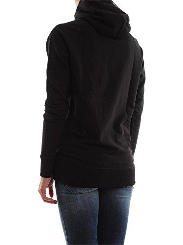 CONVERSE 6FD518 LOGO NEON SWEAT-SHIRT Femme Black