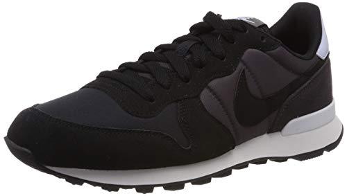 Nike Wmns Internationalist, Scarpe da Running Donna, Grigio Black/Thunder Grey/Half Blue 029, 38 EU