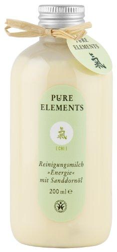 Preisvergleich Produktbild Pure Elements Naturkosmetik Chi Reinigungsmilch Energie mit Sanddornöl 200 ml