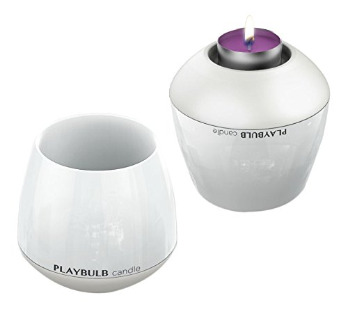 MiPow Playbulb Candle LED-Kerzenlicht 3er-Set (steuerbar Farbwechsel/-effekte per App/Smartphone) bunt