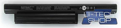 Batería compatible 6celdas para Sony VAIO PCG-71211M 10.8V 11.1V 4.4Ah Notebook
