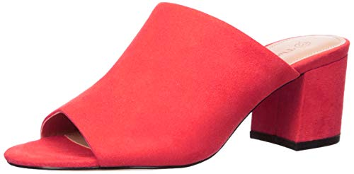 The Drop Berlin Sandale, Blockabsatz, Fiesta-Rot, 9 (US) 39.5 (EU) Fiesta 9