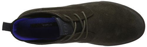 Replay Colony, Baskets Basses Homme Gris - Grau (Stone 55)