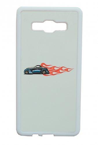 Smartphone Case America Amy USA Auto Car lusso larghezza Bau V8V12Motore cerchione Tuning Mustang cobrac lassic Hotrod fiamme blu per APPLE IPHONE 4/4S, 5/5S, 5C, 6/6S, 7& Samsung