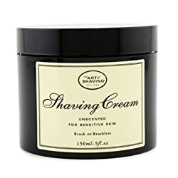 The Art Of Shaving Shaving Cream - Unscented (For Sensitive Skin)- 150g/5oz