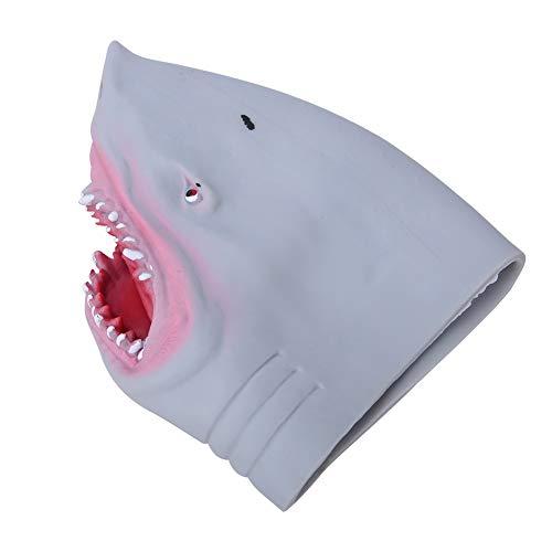Zerodis- Tiburón marioneta de Mano de Goma