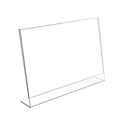 Displaypro–Marcos 25x A4paisaje soporte de menú Lean a Póster de acrílico Perspex folleto expositor–envío gratuito.