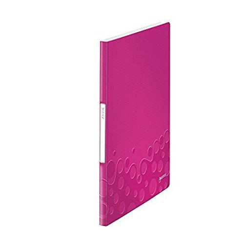 Sichtbuch A4 Wow pink metallic LEITZ 46310023 PP 20Hüllen
