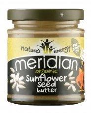 Meridian Sunflower Seed Butter (170G) Organic Gluten Free Organic Vegan by Meridian Foods