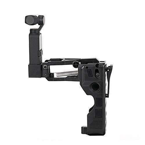 Dyda6 Handheld Kamera Stabilisator Halterung für OSMO Pocket, Z-Achse, Flexibler Griff, Kardangelständer, ausgestattet mit 1/4 Standard Schraublöchern, Fotografie-Zubehör, Schwarz, Free Size
