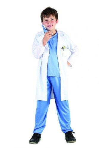 Costume dottore bambino 7/9 anni (122/134)