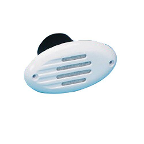 AFI 10082 Electronic Marine Below Deck Horn with Grill (White) by AFI (Afi-marine-horn)