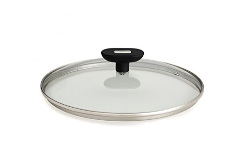 Berndes Red Edition Cookware - 24cm Saucepan Frypan Casserole Glass Lid - Replacement Lid for Pots and Pans