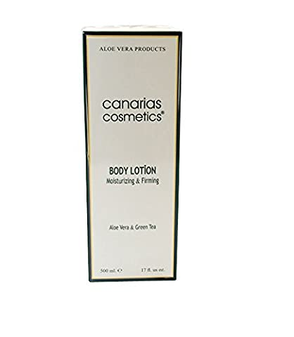 Canarias Cosmetics Dermo Aloe Body Lotion, 1er Pack (1 x 500 g) (Aloe Vera Bodylotion)