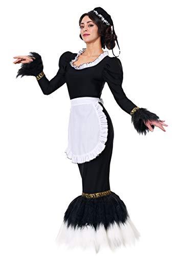 Französisches Staubwedel-Kostüm für Damen - M