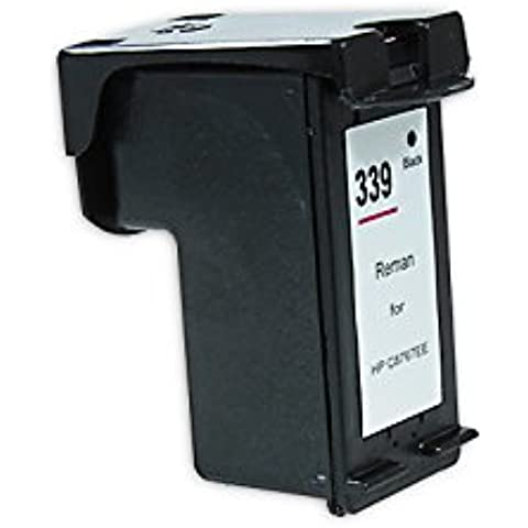Compatible para HP OfficeJet Pro K 7100 Series Cartucho de Tinta C8767EE Nr 339 NegroXXL 28 ml