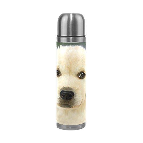 Eslifey Retriver Hundetrinkflasche, isoliert, doppeltes Vakuum, Edelstahl, 500 ml