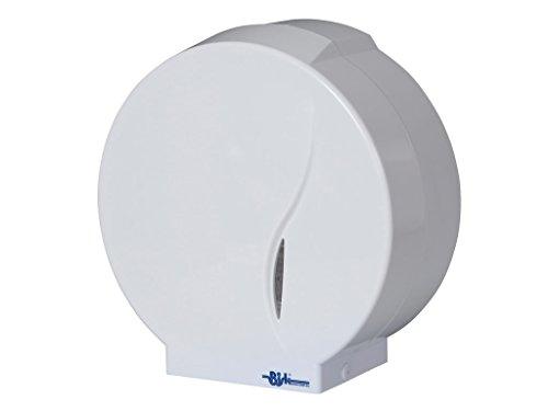 Bisk 00399 Dispensador de Papel de plástico (ABS), Blanco