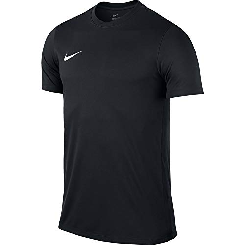 NIKE Herren Kurzarm T-Shirt Trikot Park VI, Schwarz (Black/White/010), L (Jersey Mesh Nike)