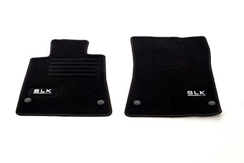 Auto Fußmatten Velours Set 2-teilig passgenau, schwarz