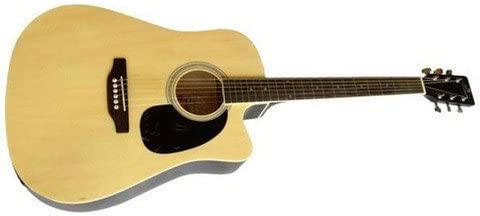 Amaze AW41CE101 Electro-Acoustic Guitar, Natural