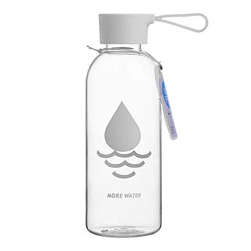 Rich overnight 600Ml Wasserflasche Leakproof Material Sportgetränk Tour Wandern Portable Climbing Camp Flaschen,Tropfen Wasser