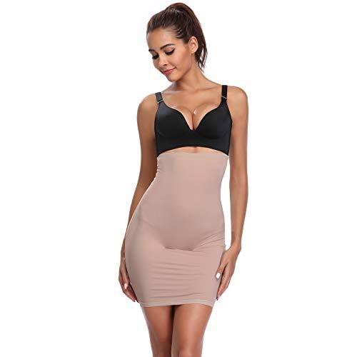 e92ea85044 Joyshaper Half Slips Shapewear for Women Shaping Under Skirt Dress Slip  High Waisted Tummy Control Slimming