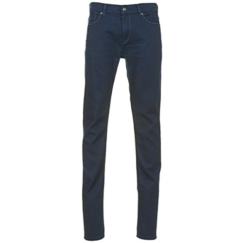 7 for all Mankind Ronnie Jeans Herren Blau - DE 38/40 (US 29) - Slim Fit Jeans