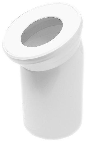 Sanitop-Wingenroth 21570 1 Anschlussbogen für Stand WC | Weiß | 22 Grad | Toilette -
