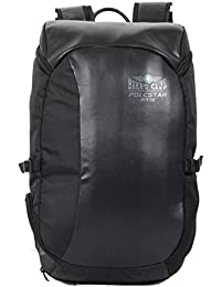 """POLE STAR""""Beast"""" Anti Theft 15.6"""" Laptop/Travel/Leatherette Backpack Bag"""