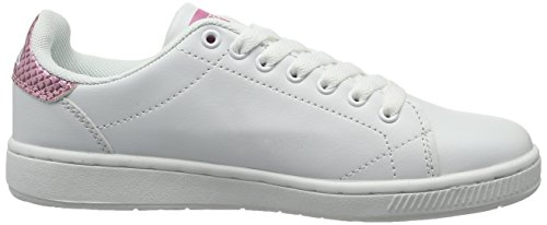 Kappa Court Glory, Sneakers Basses Femme Blanc (White/rosé)