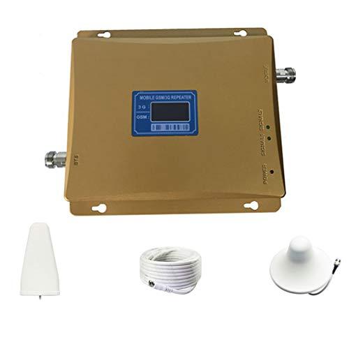 Dual-band Repeater-kit (Smart Gsm-Wcdma Home Office Handy-SignalverstäRker, Repeater Dual Band FüR 2g / 3g-Handys Hohes Handy-Signal Und Internet-Geschwindigkeit)