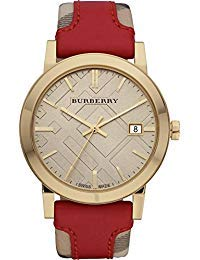 Burberry Luxury Swiss Gold orologio unisex donna uomo The City Collection...