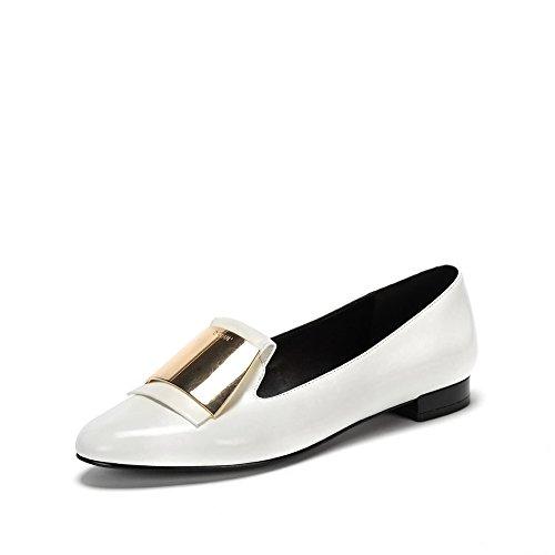 Ronde demi-deep orale Mesdames chaussures/Une pédale de chaussures de mode/Les souliers A