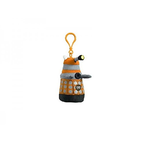Underground Toys - Peluche Clip On Doctor Who - Dalek Orange 10cm - 0882041005868 (Hang Time-tv-serie)