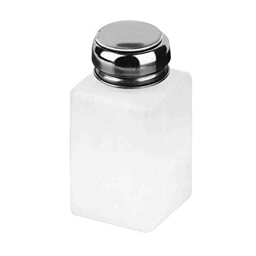 zeruangewei 200ML flüssige Alkohol Press Nagellackentferner Dispenser Pumpflasche