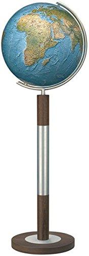 Columbus DUORAMA–Mappamondo luminoso con base da pavimento, modello Imperator: 40cm di diametro.