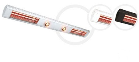 Solamagic radiateur infrarouge 2800 lumière-waerme break 2000mm blanc