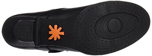 ART Damen 0925 Star Harlem Schuhe mit Vertikalen Streifen Schwarz (Star Total Black)