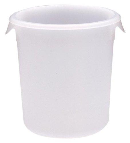 Rubbermaid Produkte fg572400wht 8-quart rund Container, 8 quart, weiß, 1